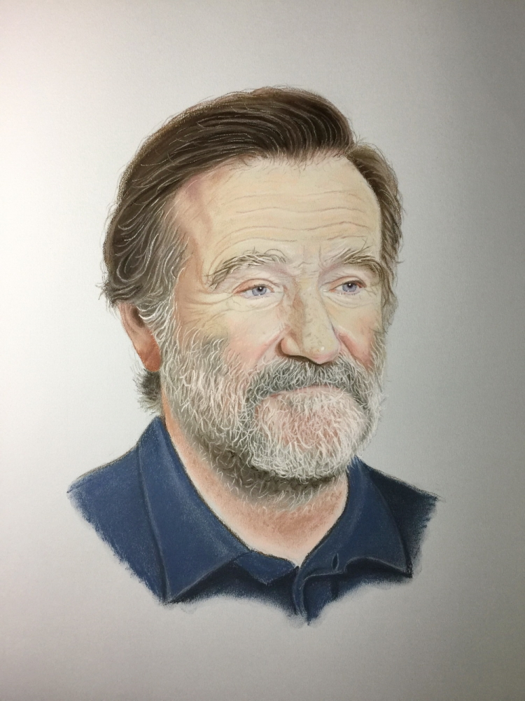 Robin Williams by JavierNoda